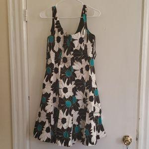 Jones Wear floral a line dress size 10